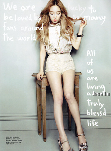 Taeyeon @ Elle Girl July Scan