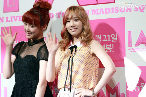 Taeyeon @ I AM Premiere Press Conference