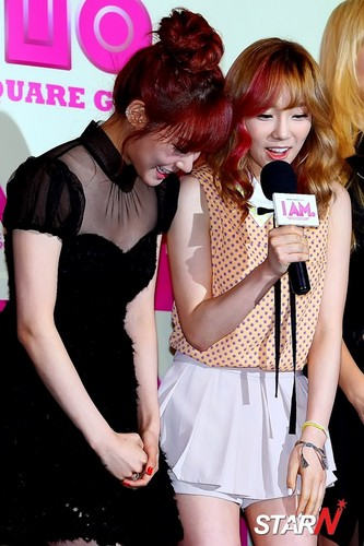 Taeyeon Tiffany @ SMTown Movie I AM Premiere Press Conference