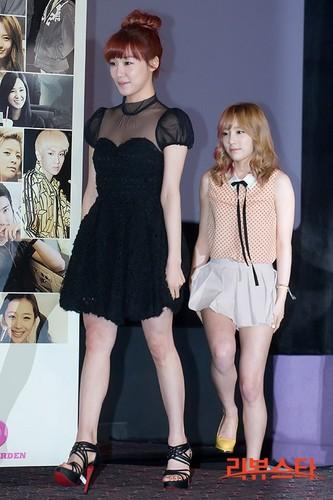 Taeyeon Tiffany @ SMTown Movie I AM Premiere Press Conference