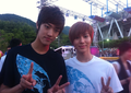 Takuya and Taemin  - cross-gene photo