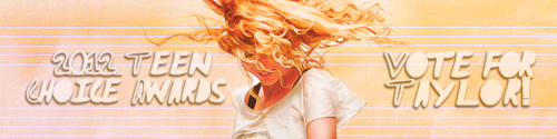 Taylor rapide, swift TCA Voting Banners