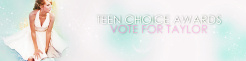 Taylor تیز رو, سوئفٹ TCA Voting Banners