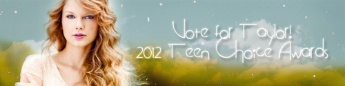 Taylor snel, swift TCA Voting Banners