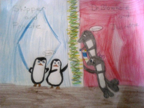 Team penguins vs Team dolphins