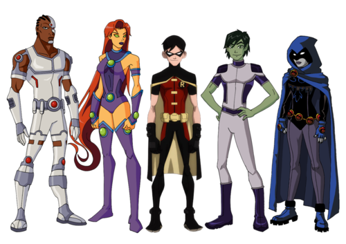 Teen Titans vs. Young Justice fond d'écran entitled Teen-Justice-young-justice