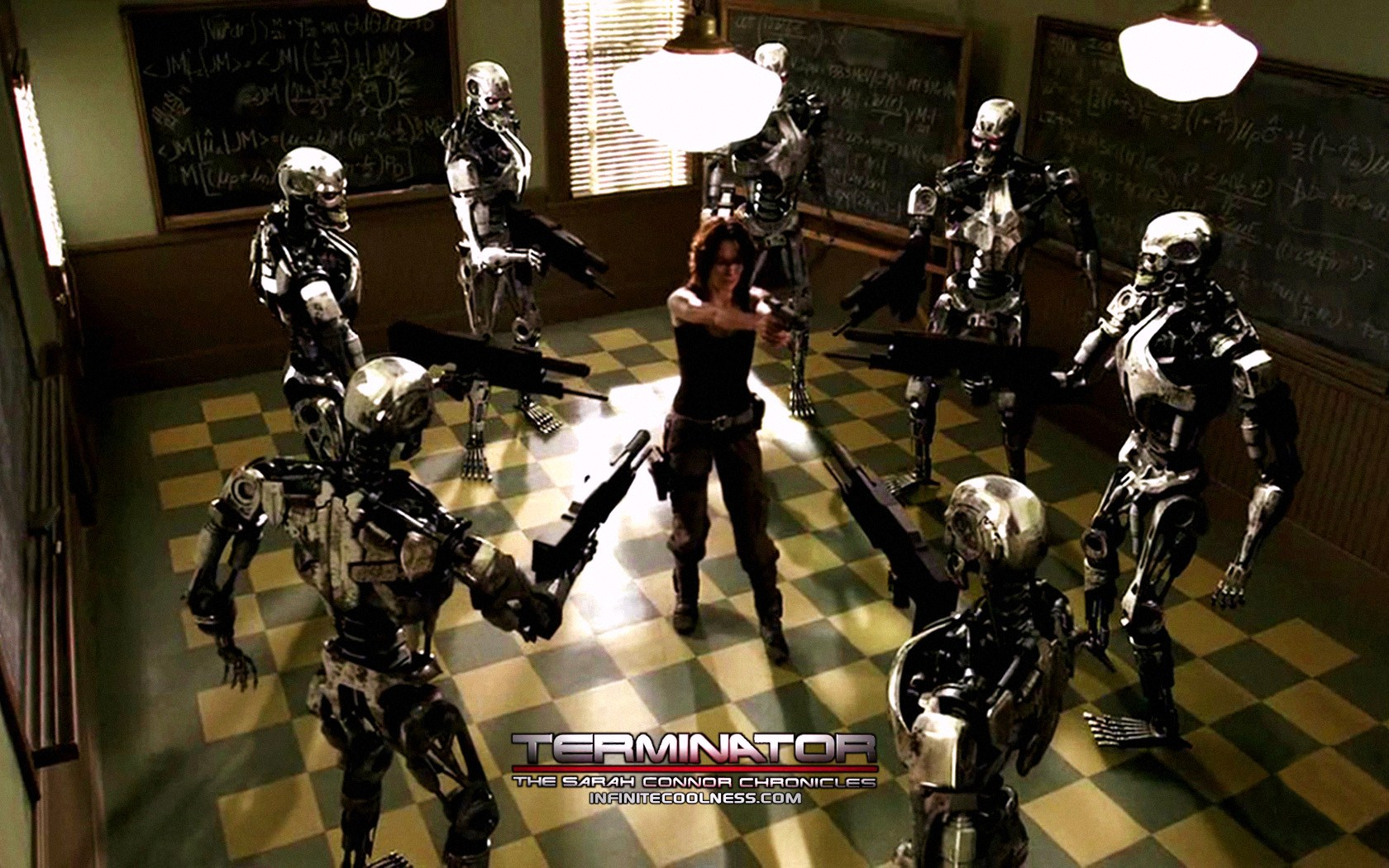 terminator the sarah chronicles wallpaper Metacritic tv reviews, terminator: the sarah connor chronicles, the terminator franchise arrives on tv with this serial drama the series picks up two years after the events of terminator 2: judgment d.