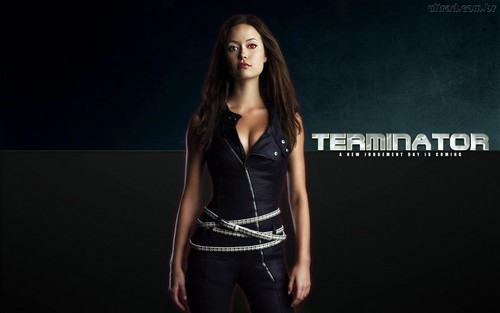 Terminator  The Sarah Connor Chronicles Wallpaper                 Fanpop Emilia Clarke is the new Sarah Connor in Terminator  Genesis
