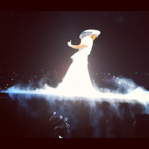 The Born This Way Ball Tour in Brisbane (June 13) - lady-gaga Photo