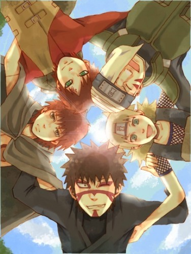 The Sand Family - naruto-shippuuden Photo