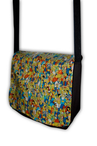 The Simpson Messenger Bag