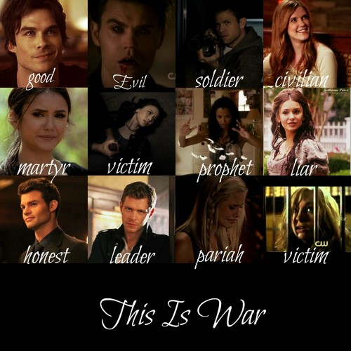 This is war - the-vampire-diaries-tv-show Fan Art