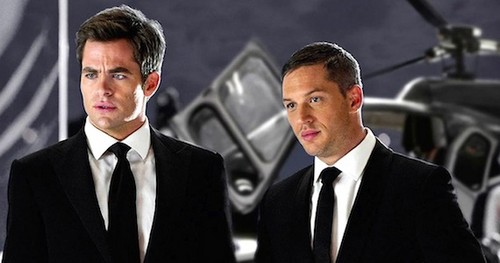Movies wallpaper containing a business suit, a suit, and a three piece suit called This means war