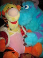Tigger and Sulley plushies - winnie-the-pooh photo