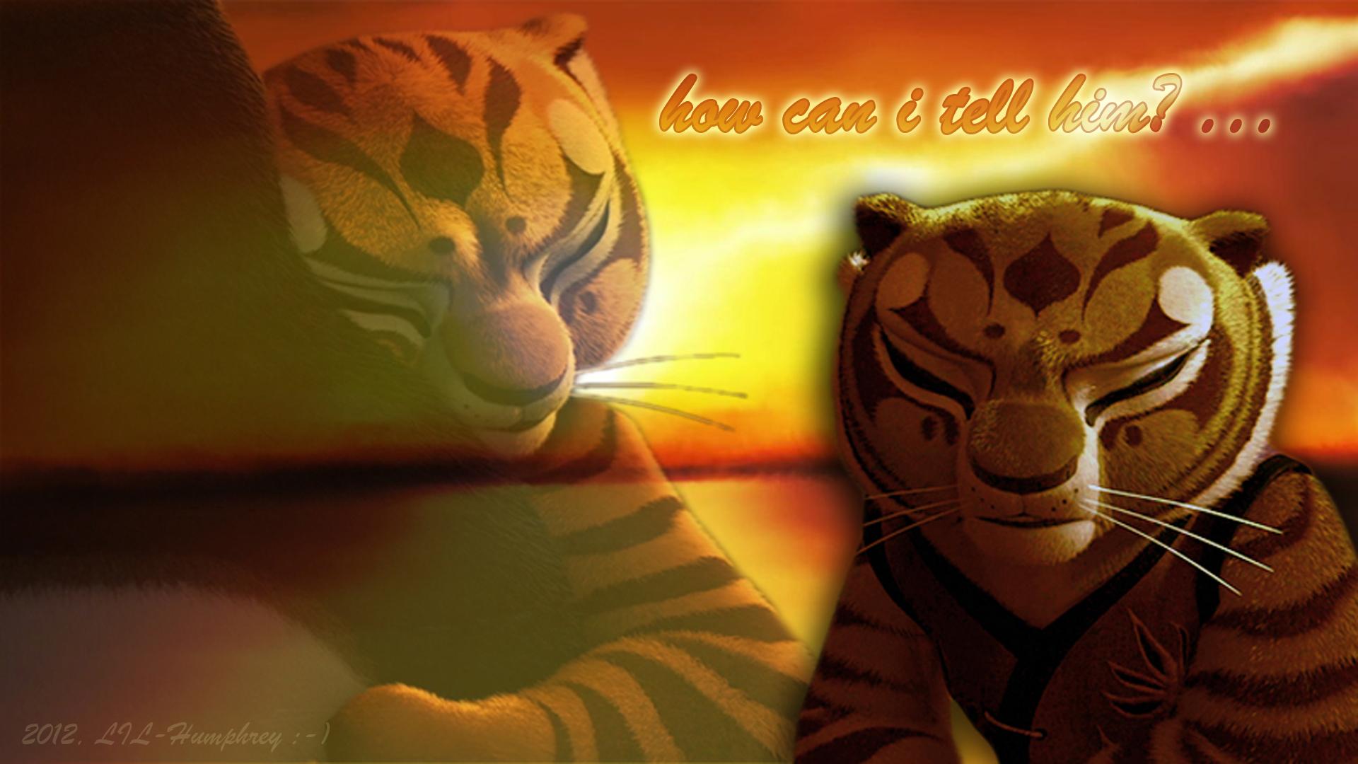 tijgerin, die tigerin secretly in Love