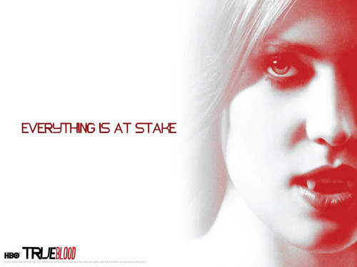 True Blood: Jessica fondo de pantalla