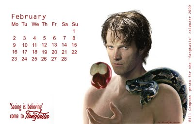 True blood calendars