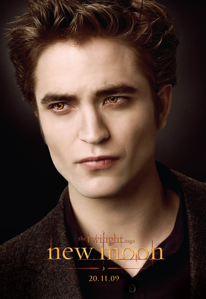 New Moon On Pinterest New Moon Movie Edward Cullen And