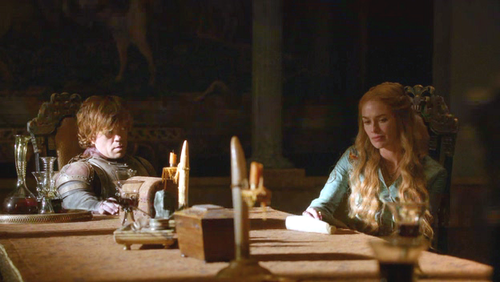 Tyrion and Cersei