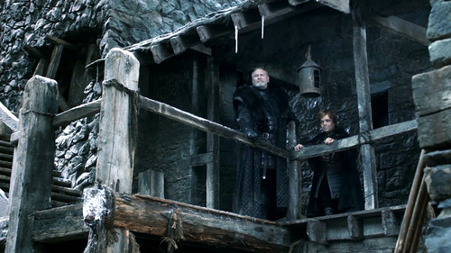 Tyrion and Mormont