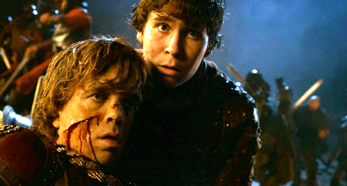 Tyrion and Podrick