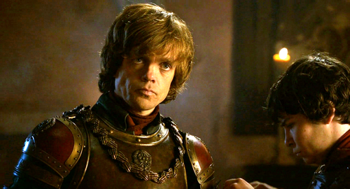 House Lannister پیپر وال containing a breastplate titled Tyrion and Podrick
