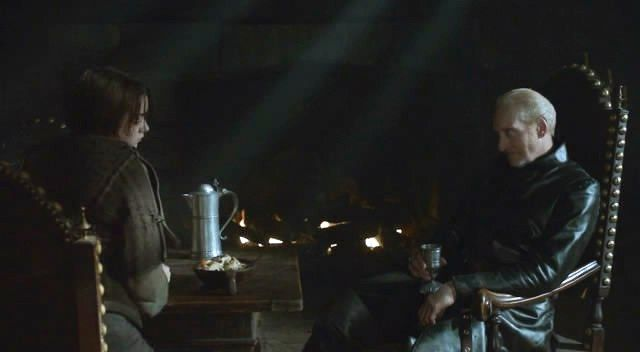 Tywin and Arya