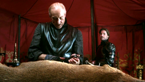 Tywin and Jaime