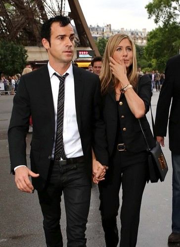 Visiting The Eiffel Tower In Paris [13 June 2012] - jennifer-aniston Photo