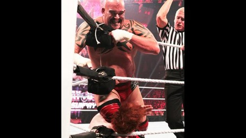 WWE Raw Sheamus vs Tensai - wwe Photo