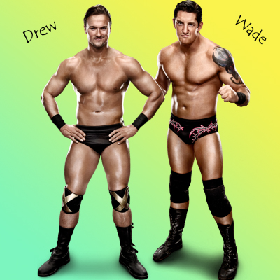 Wade Barrett and Drew Mcintyre