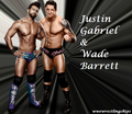Wade Barrett and Justin Gabriel - wade-barrett fan art