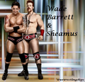Wade Barrett and Sheamus - wade-barrett fan art