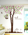 When tu amor Giant árbol and Birds muro Sticker