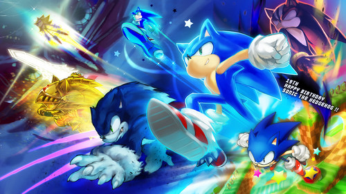 Sonic the Hedgehog wallpaper called Where All In