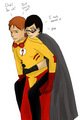 Who else? - kid-flash-robin photo