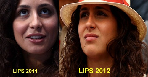Xisca lips 2011 and 2012