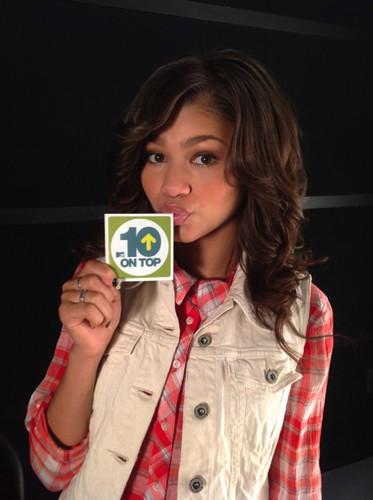 Zendaya on 音乐电视