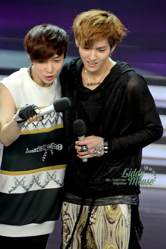 Zhang Yixing and KRIS