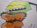 Zim loves samiches - invader-zim photo
