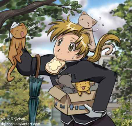 Alphonse Elric fondo de pantalla containing anime called al<3 cat's