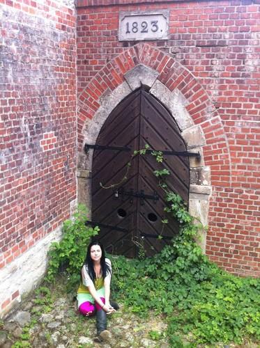 amy exploring spandau citadel