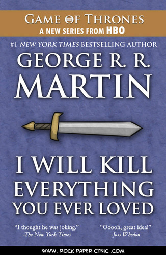 GRRM'S newest book