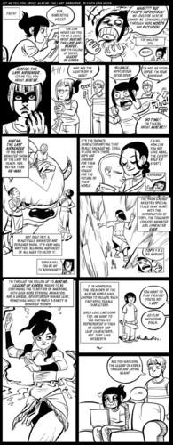 Avatar comic kwa bryan konietzko