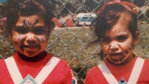 Kim Kardashian wallpaper containing a chainlink fence titled baby Kim & Kourtney