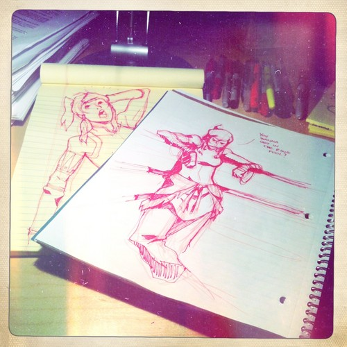 bryan konietzko's notebooks