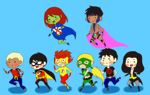 Чиби young justice
