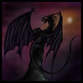 dark dragon - dragons photo