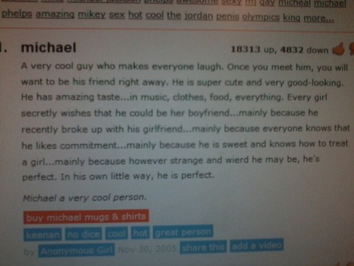 definition of Michael
