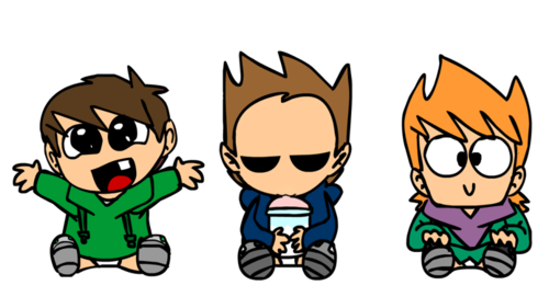 Eddsworld wallpaper with anime called eddsworld babies